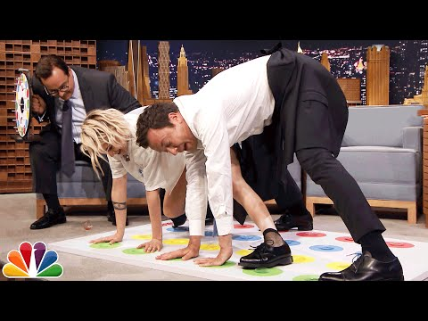 Jell-O Shot Twister with Kristen Stewart