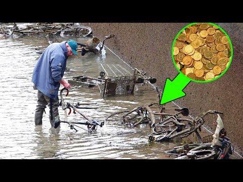 dopo 200 anni fanno scoperte scioccanti in un fiume di parigi!