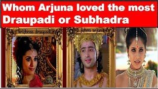Video Who was Arjuna's favorite wife    Whom Arjuna loved the most    Mahabharat facts MP3, 3GP, MP4, WEBM, AVI, FLV Februari 2019