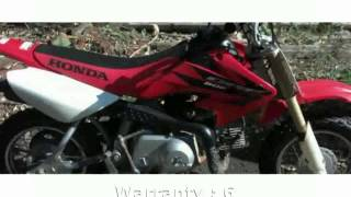 1. 2006 Honda CRF 50F Specification, Features