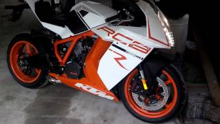 5. 2012 KTM RC8R Competition Werkes Slip-On