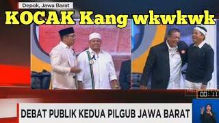 Video Debat Pilgub Jabar 2 - Sesi Paling Kocak Saat Dedi  Skakmat Ridwan MP3, 3GP, MP4, WEBM, AVI, FLV Mei 2018