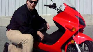 10. 2007 Honda NS 250 Reflex stock #9-0087 demo ride walk around