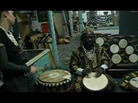 West african  traditional drumming lesson (Dansa)