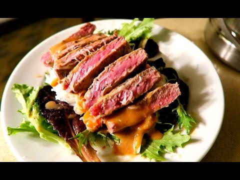 Guy Makes Steak Dinner In Hotel Room Using The