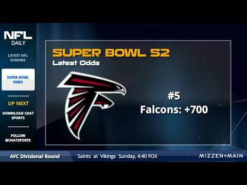 2018 Super Bowl Odds - New England Patriots, Philadelphia Eagles, Pittsburgh Steelers