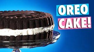 Make a Giant Oreo Cake
