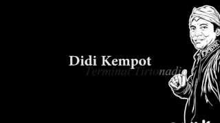 Didi Kempot - Terminal Tirtonadi Lyric