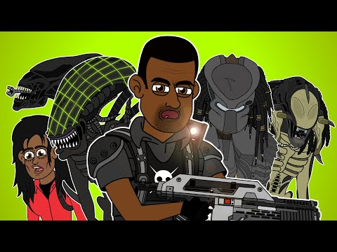 Alien vs. Predator The Musical - Animated Parody Song
