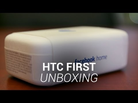 HTC First Unboxing