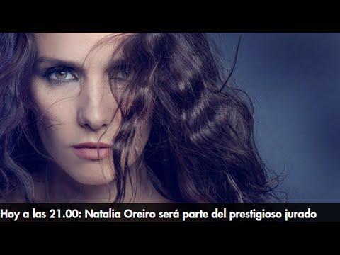 """Hoy Natalia Oreiro en el programa """"Elegidos"""" a las 21.00! #Elegidos"""