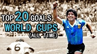 Video TOP 20 GOALS ● WORLD CUPS MP3, 3GP, MP4, WEBM, AVI, FLV September 2019