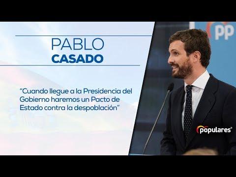 Pablo Casado se compromete a un Pacto de Estado co...