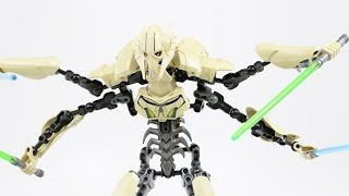 LEGO Star Wars General Grievous (Timelapse & Review) - Set 75112