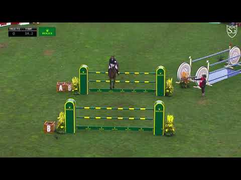9th place with Venard de Cerisy (0+12) in the CP International Grand Prix presented by ROLEX in Spruce Meadows