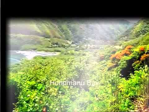 Travel around the world  Maui, Hawaii  The Hana Highway from Pa'ia to Ke'anae
