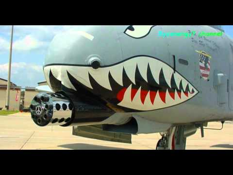 A-10 Thunderbolt Warthog being...
