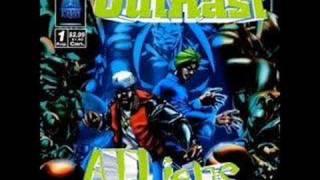 Outkast - Ova Da Wudz Instrumental