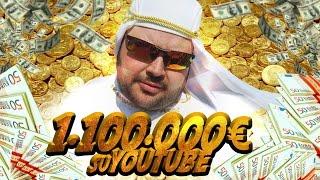 Ho Accumulato un Patrimonio di 1.100.000 EURO su YOUTUBE