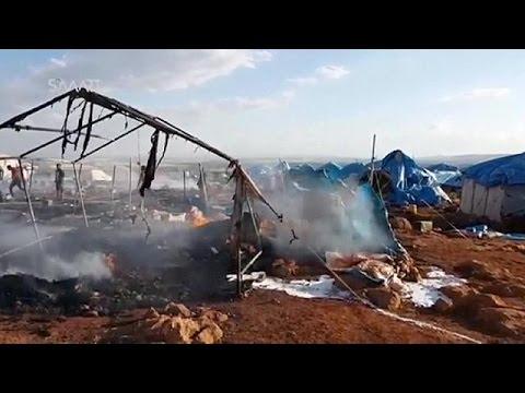 Μακελειό σε καταυλισμό εκτοπισμένων στη Συρία