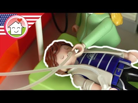 Playmobil film english Daddy Has a Tummy Ache - Celiac disease - The Hauser Family