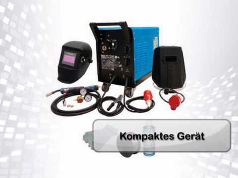 GÜDE Top Schutzgas Schweißgerät - Set 192K 8-teilig (296612)