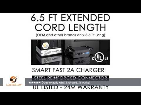 [UL Listed] Pwr+® Extra Long 6.5 Ft AC Adapter 12V Rapid Charger for Wd Western Digital External