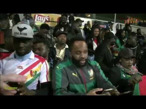 Ambiance après la rencontre Guinée - Cameroun à Bruxelles