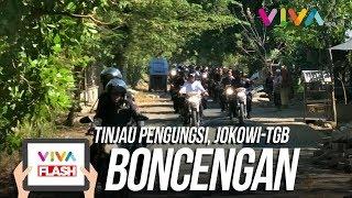 Video Gaya Jokowi Bonceng TGB Naik Motor Trail Tinjau Pengungsi MP3, 3GP, MP4, WEBM, AVI, FLV April 2019