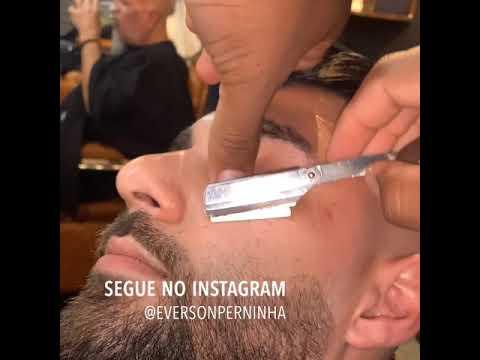 Degrade na barba e pigmentação #degrade #barba #pigmentacao @eversonperninha