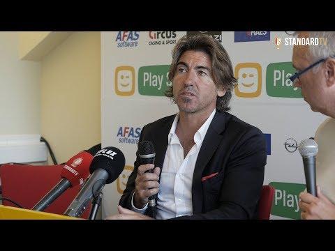 Ricardo Sá Pinto réagit après le partage à Malines