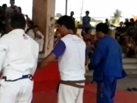 I open de jiu-jitsu em Itaituba-PA...Márcio vs Igor
