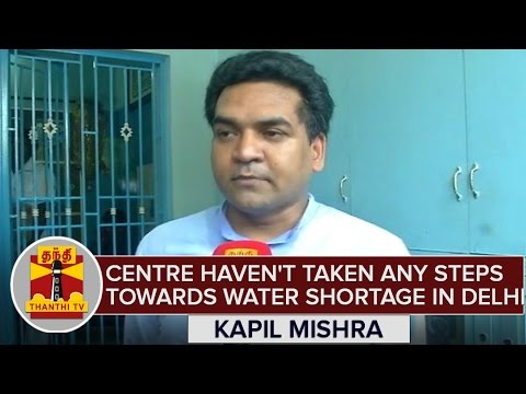 BJP-Govt-Havnt-Taken-Any-Steps-Towards-Water-Shortage-in-Delhi--Kapil-Mishra-Accuses