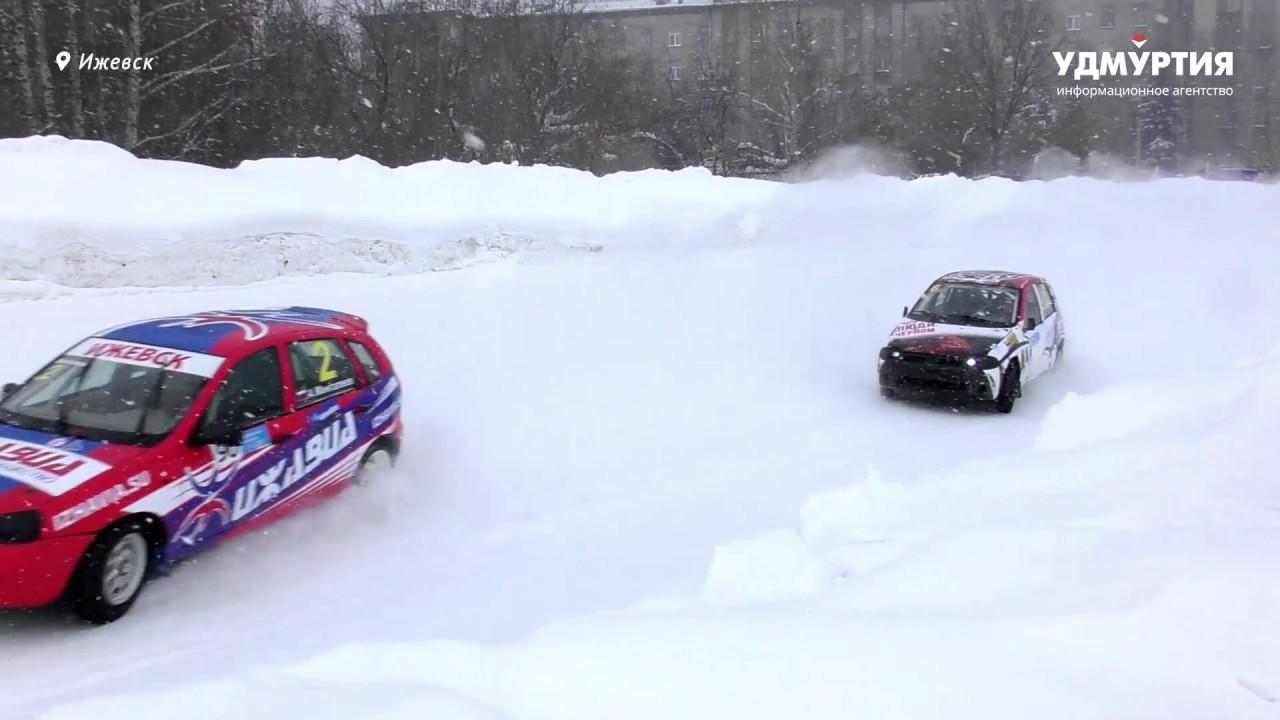 Второй этап Чемпионата Удмуртии по зимним трековым гонкам