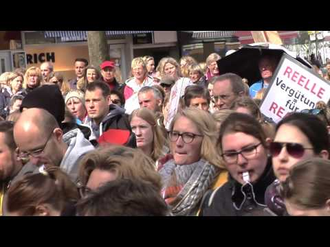 Kiel 2015: Demo in Kiel - Bund vereinter Therapeuten  ...