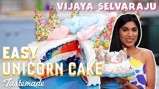Easy Unicorn Cake I Vijaya Selvaraju by Tastemade