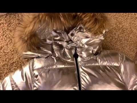 Детская зимний теплый комплект на натуральном пуху видео