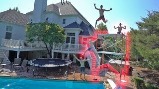 Basically backyard cliff jumping :D Thanks for watching! Funk bros- ...