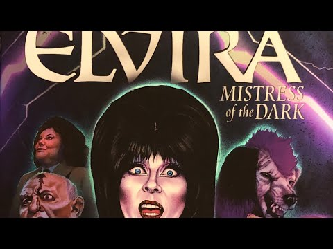 Elvira Mistress Of The Dark Blu-ray Unboxing From Arrow Video