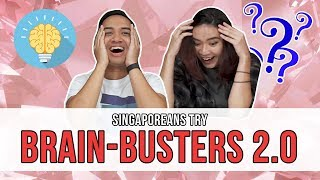 Video Singaporeans Try: Brain-Busters 2.0 | EP 115 MP3, 3GP, MP4, WEBM, AVI, FLV Oktober 2018