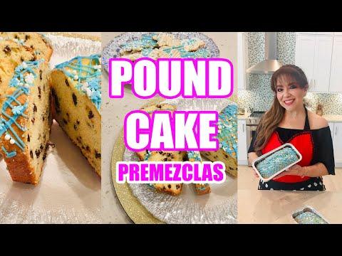 POUND CAKE CON PREMEZCLA