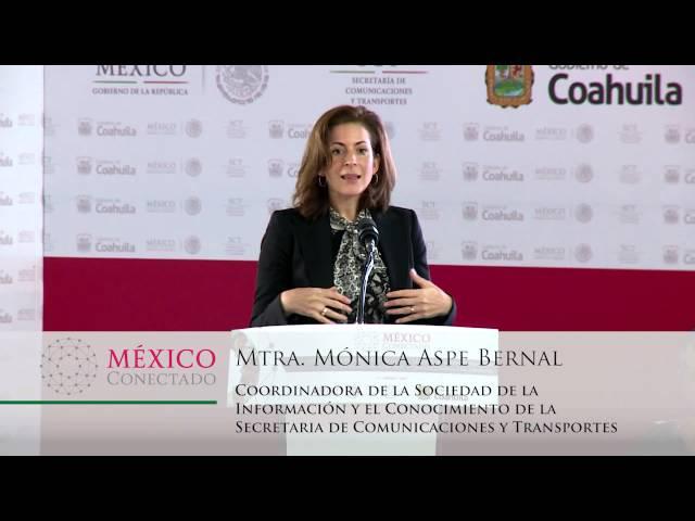 Comienza México Conectado en Coahuila