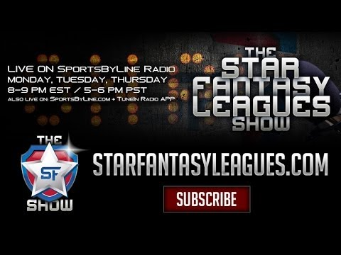 The Star Fantasy Leagues Show – February 27, 2014 (LIVE STREAM)