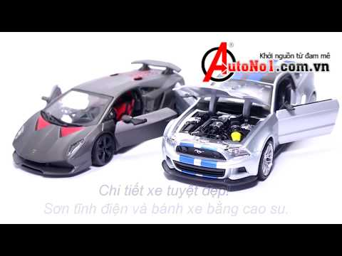 Bộ Sưu Tập Xe Trong Phim Need For Speed Ford và Lamborghini tỉ lệ 1:24 BBurago và Maisto