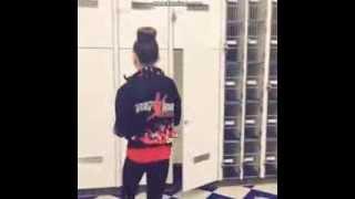 Maddie opens locker only to find Chloe!