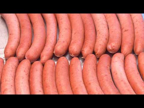 Franks, Hot Dog Frankfurter Sausage How To Video German Sausage Maker
