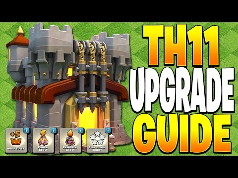 What to Upgrade FIRST at TH11! - Clash of Clans