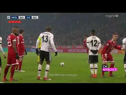 Bayern Munich Vs Besiktas 5-0 All goals and 1 red card
