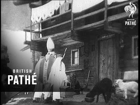 "St. Nicholas Day In Austria Aka ""Little Christmas"" In Austria - Long Version (1934)"