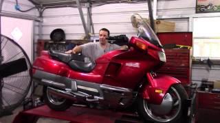 6. My new/used 1990 Honda Pacific Coast Motorcycle.